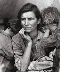 Migrant Mother. Par Dorothea Lange. 1936