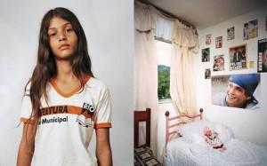 Thais, 11 ans. Brésil
